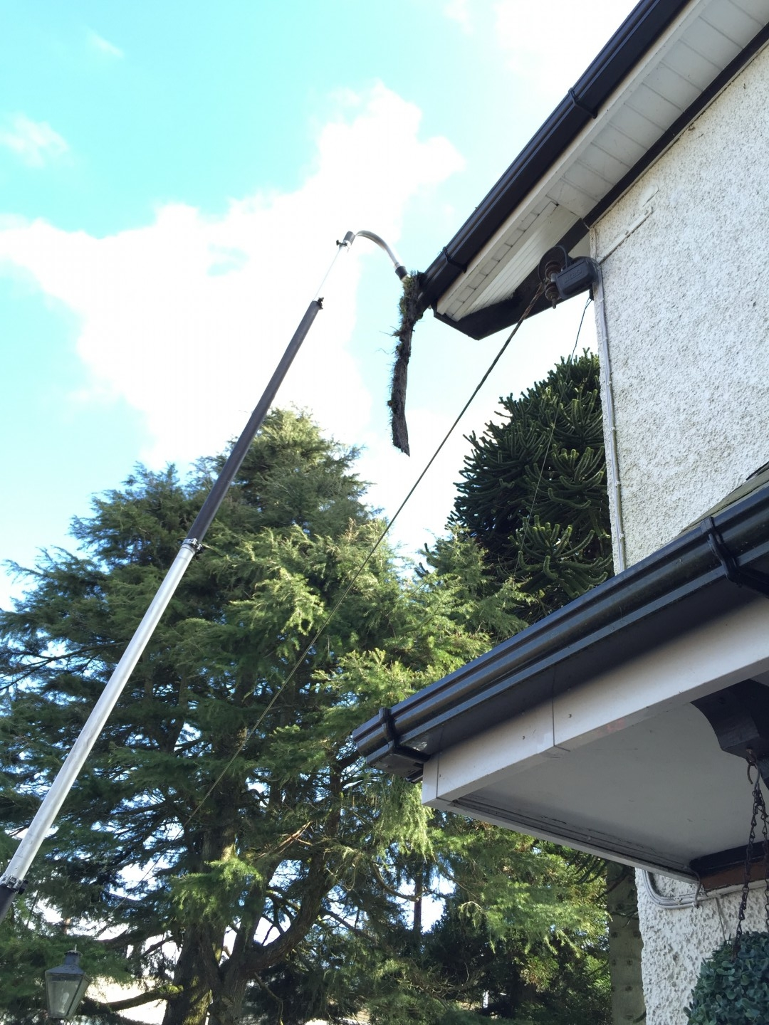 Gutter Clearance Example