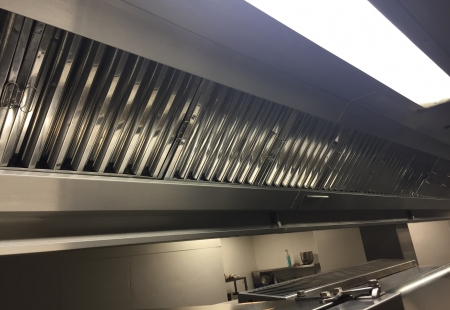 Kitchen Extraction System Cleaning Example