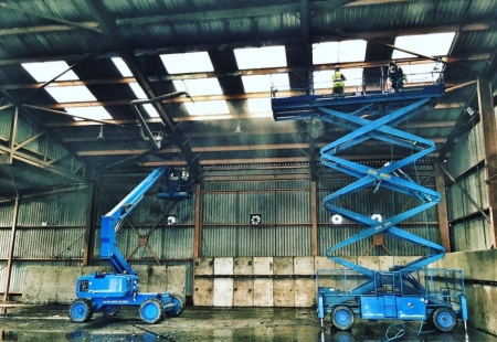 Industrial ATEX Cleaning – Explosive Dust Removal Example
